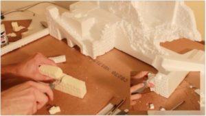 Creare muri del presepe